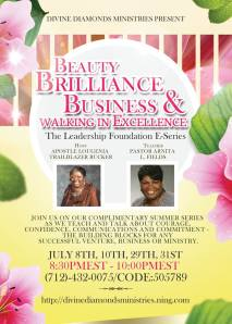 """Join Host, Apostle TrailBlazer Rucker as we launch our next Summer """"Learn & Grown on Purpose"""" Series"""